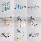 Accesorios cromados del cuarto de baño