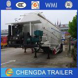 오만을%s 3개의 차축 55m3 65t Cement Bulker Tanker Trailer