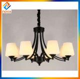 Candelabro europeu do metal da lâmpada do teto da lâmpada do pendente do estilo