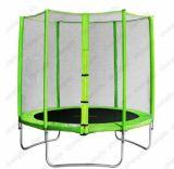8FT im Freien halbe Pole innere Sicherheitsnetz-Trampoline