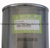El compresor de aire parte el filtro de petróleo para los compresores 2605530830 de Fusheng