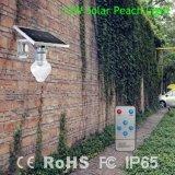 Réverbère solaire de coulage sous pression de l'aluminium DEL de qualité pour le jardin