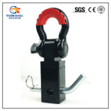 Montaje forjado del receptor del acero de carbón con el grillo
