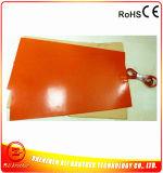 almofadas de calefator da borracha de silicone de 220V 10W 450*950*1.5mm