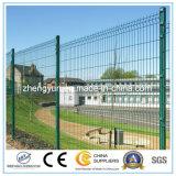 Покрынная PVC сваренная загородка ячеистой сети/загородка сада