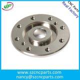 Aluminiumrohrfittings CNC-Prägemaschinell bearbeitenteile, CNC-Präzision, die Teile aufbereitet