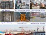Aufbau-Turmkran/Gebäude-Kran Qtz80 (TC6010) - maximal. Kapazität: 8t/Boom 60m/Tipp Eingabe: 1.0t