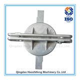 La bride en aluminium de signe près le traitement de moulage mécanique sous pression