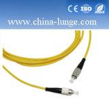 Om3 Om4 OS2 G651 APC Upc van PC FC van Sc LC van G652D Koord van het Flard van de Vezel het Optische