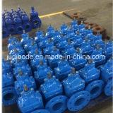 Válvula de porta Ductile do Sluice do ferro Ggg50 para a água