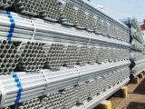 Tubo rotondo di Gi Pre-Galvanizzato Q195 del acciaio al carbonio di figura BS1387 della sezione