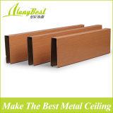 Modèle faux en bois de plafond en métal de qualité