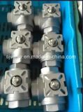 Шариковый клапан 3 дорог с ISO 5211