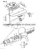 Малые 2 гладят рукой забортный двигатель 2 китайцев HP