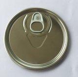 Extrémité ouverte partielle du fer blanc 307 pour l'huile lubrifiante