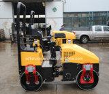 Rouleau de route hydraulique de vibrateur de tambour tandem de bonne qualité (FYL-890)