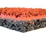 De milieuvriendelijke Synthetische/Plastic Renbaan/de Baan/het Geruite Schotse wollen stof van de Dopheide voor Sportterrein