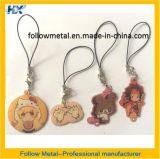 Metallo su ordinazione Keychain con stampa ed epossidico