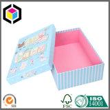 Коробка упаковки бумаги ювелирных изделий картона печати цвета 4 твердая