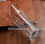 Подгоняйте чашку стекла вискиа чашки съемки чашки стекла пива чашки Гибралтара логоса