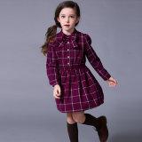 Uniforme scolastico del vestito dal cotone del plaid di stile della Russia