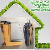 미국 알루미늄 목제 합성 차일 Windows, 상한 집을%s 고품질 미국식 Windows