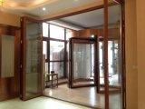 Porte Bifold en aluminium personnalisée par qualité
