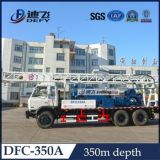 트럭 Dfc-350A에 트럭에 의하여 거치되는 우물 드릴링 리그 기계
