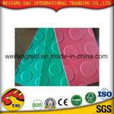 Folha de borracha da esteira do PVC da boa qualidade antiderrapante da cor para o assoalho