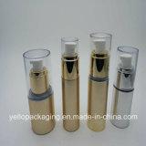 Bottiglia di plastica impaccante cosmetica della bottiglia della matrice per serigrafia del contenitore senz'aria delle estetiche