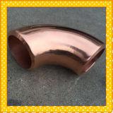 Coude de cuivre, coude court d'en cuivre de radius de 90 degrés