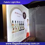Поставщик Китая новой рекламируя алюминиевой афиши светлой коробки ткани СИД