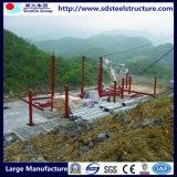 Edificio prefabricado portable del envase de la estructura de acero con Ce y la ISO