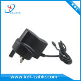 het UK 3pin Plug Power Supply 6V 800mA AC/DC Power Adapter met Ce & RoHS