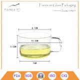 Abitudine Glass&Nbsp della mano; Tazza per tè o caffè