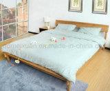 Camas matrimoniales modernas de la cama de madera sólida (M-X2241)