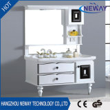 Eenvoudige Vloer die Kabinet het Van uitstekende kwaliteit van de Badkamers van pvc bevinden zich