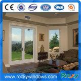 Sicherheits-thermischer Bruch-Aluminiumflügelfenster-Tür-Doppelverglasung-Tür-Haupttür-Gitter-Entwurf