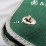 Grüne Farben-Kurier-Beutel mit grauem Material-Schultergurt