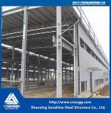 Edificios ligeros de la fábrica de la estructura de acero del marco del diseño para el taller