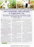 Unigrow organisches Biodüngemittel auf Zuckerrohr, Papaya und Passionsfrucht