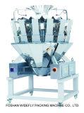 Pesatore d'imballaggio e di pesatura automatizzato automatico di Multihead per gli spuntini
