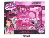 Beauté éducative de fille de jouets de plastique de jouets de DIY réglée (1040504)