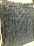 Geotêxtil tecido preto dos PP e esteira ecológica de Weed no rolo