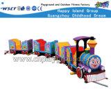 Le train électrique drôle extérieur badine le matériel d'amusement (M11-06804)