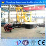 Cliente controlado 1000m3 / H Drenagem de areia de sucção de cortador hidráulico completo