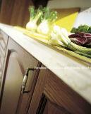Modular dunklen hölzernen Farben-festes Holz-Küche-Schrank anpassen