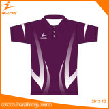 100% Polyester Sublimation Impression Polo Hommes T-Shirts