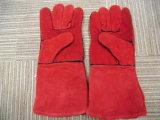 Handschoenen van het Lassen van de Koe van Ddsafety 2017 de Rode Gespleten