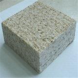 Pedra de pavimentação do granito cinzento barato de China
